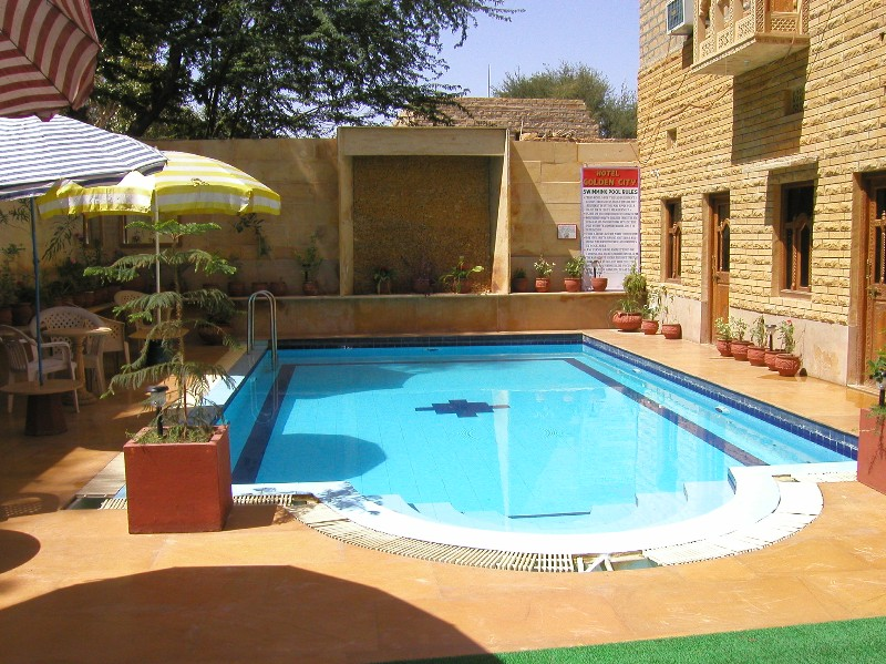 Hotel Golden City Jaisalmer Hotel With A Swimming Pool